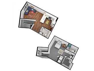 A3 Floor plan layout