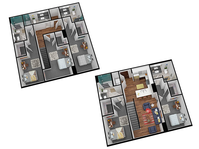 E2 Floor plan layout