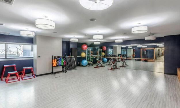 Fitness Studio at Rise at Northgate