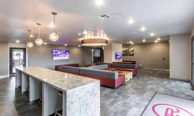 Clubroom at Rise at Northgate