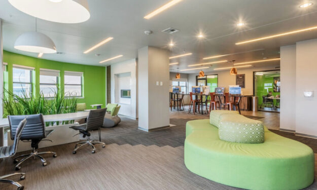 Business center at Rise at Northgate
